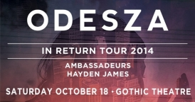 Odesza @ The Ogden Theatre