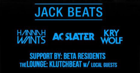 NRG Thursdays @ Beta Nightclub with Jack Beats, AC Slater, Hannah Wants, and Kry Wolf
