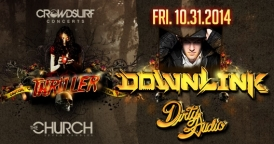 Thriller: Downlink at Global Fridays @ The Church Nightclub