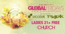 Global Fridays @ The Church Nightclub Featuring Paul Van Dyk