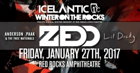 Icelantic's Winter on the Rocks ft. Zedd, Anderson .Paak & more!